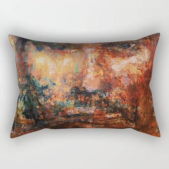 The Human Race 4 Rectangular Pillow
