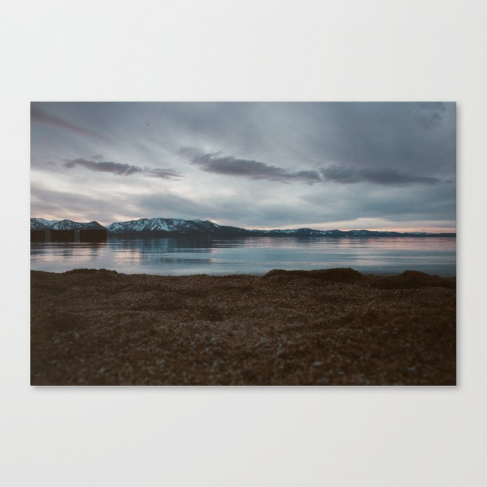 A Lake Named Tahoe Canvas Print