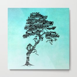 Bodhi Tree Metal Print