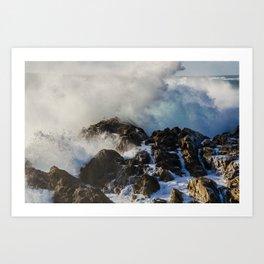 Pacific Waves // California Art Print