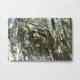 Urbex // AAOR Ventilation // South Wales Metal Print