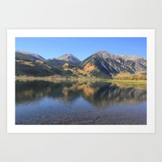 Twin Lakes, CO Art Print
