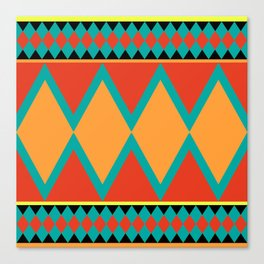 Pizzazz: 4 of 9 Canvas Print