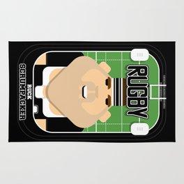 Rugby Black - Ruck Scrumpacker - Bob version Rug