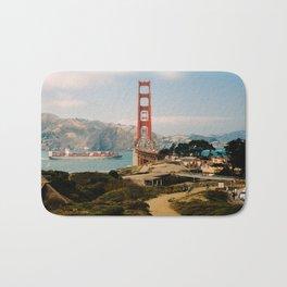 Golden Gate Bridge shot on film Bath Mat