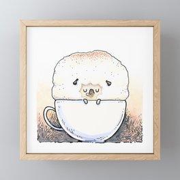 Cappugccino Framed Mini Art Print
