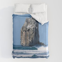 Witches Rock * Costa Rica Duvet Cover