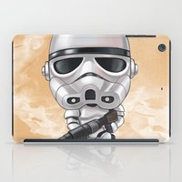 storm trooper iPad Cases featuring STORM TROOPER by Leoren