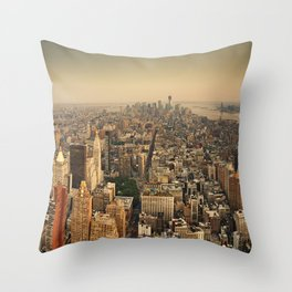 Empire State View Throw Pillow