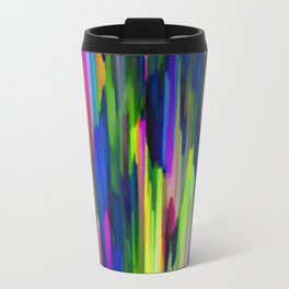 Colorful digital art splashing G256 Travel Mug