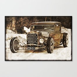 The Pixeleye - Special Edition Hot Rod Series IV Canvas Print
