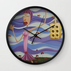 Floating Dancer Wall Clock