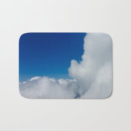 Flying in the Clouds Bath Mat