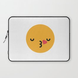 Emojis: Kiss Laptop Sleeve