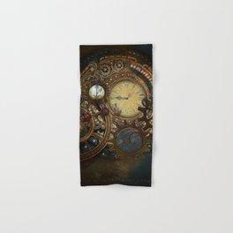 Steampunk Clocks Hand & Bath Towel