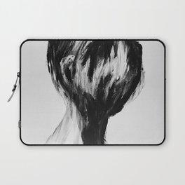 Surreal Distorted Portrait 04 Laptop Sleeve