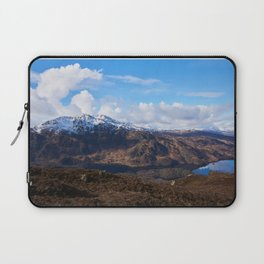 Winter Hills of Scotland Laptop Sleeve