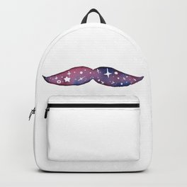 Smug Space Mustache Backpack