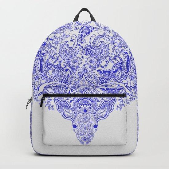 Little Blue Deer Backpack