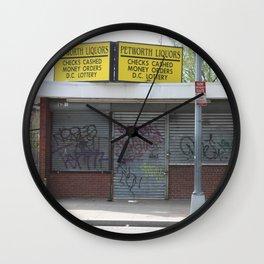Petworth Liquor Wall Clock