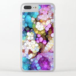 Happy Colors Clear iPhone Case