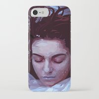 laura palmer iPhone & iPod Cases featuring Laura Palmer from Twin Peaks by Alice Teal