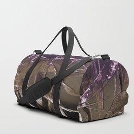 Purple Royale Duffle Bag