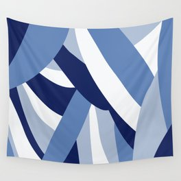 Pucciana Blue Wall Tapestry