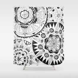Mandala Series 02 Shower Curtain