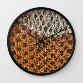 texture - connections Wall Clock