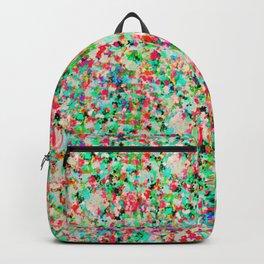 Informel Art Abstract G214 Backpack