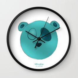 The Wopawopas_Pooch the Panda Wall Clock