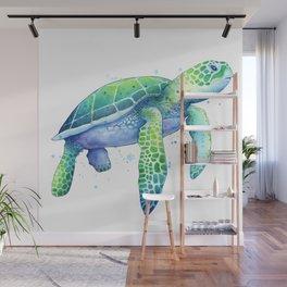 Green Sea Turtle Wall Mural