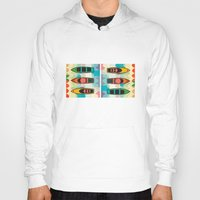 boats Hoodies featuring the boats by Julia Tomova