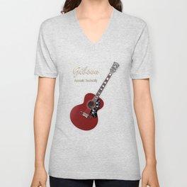 Gibson Acoustic Rockabilly Unisex V-Neck