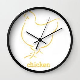 Chicken Wall Clock