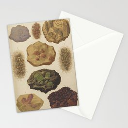 Gems And Minerals Stationery Cards
