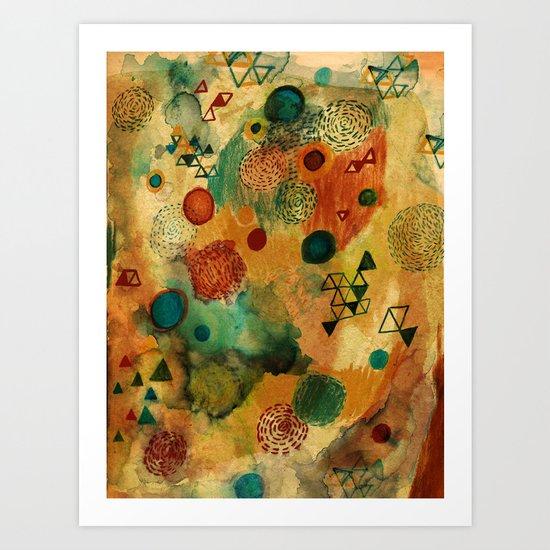 Creative Attraction Art Print