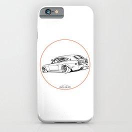 Crazy Car Art 0225 iPhone Case