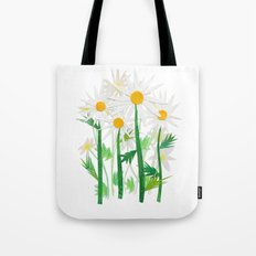 Danish Daises Tote Bag