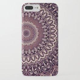 MARSALA MANDALA iPhone Case