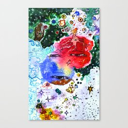 Ace of Space Canvas Print