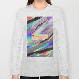 Error Tab Vaporwave Long Sleeve T-shirt