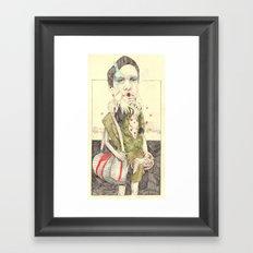 Figure(2) Framed Art Print