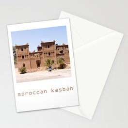 Moroccan kasbah Stationery Cards