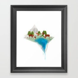 Oragama Framed Art Print