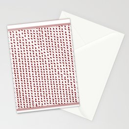 Minimal Traditional Pattern Stationery Cards