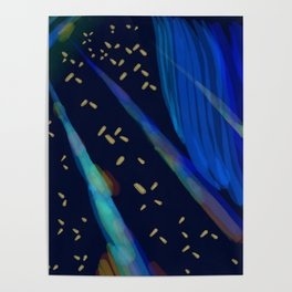 Beeple Bops and Blue Poster