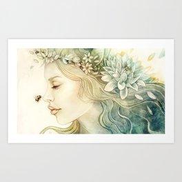 Teresa Art Print