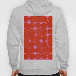Abstract mid-century shapes no 6 Hoody